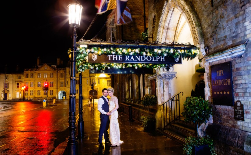 Christmas wedding at The Randolph Hotel, Oxford (Yes I know it's summer but I've been busy) – Oxford wedding photographer.